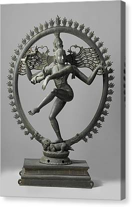 Shiva Canvas Print by Indian School