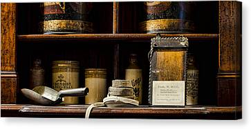 Shop Counter Canvas Print by Heather Applegate