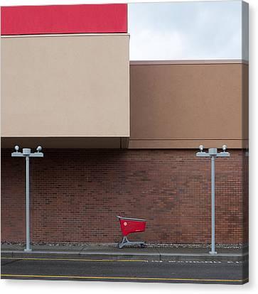 Shopping Cart Canvas Print by Klaus Lenzen