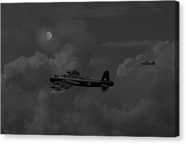 Short  Stirling - 'forgotten Bomber' Canvas Print by Pat Speirs
