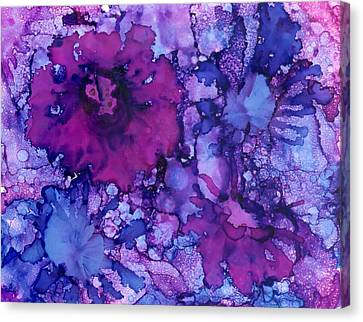 Showing Off Canvas Print by Christine Crawford