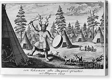 Siberia: Shaman Canvas Print by Granger