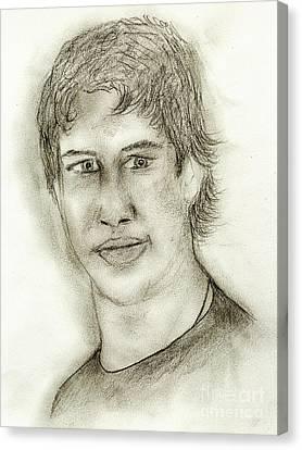 Sid The Kid Canvas Print by Sonya Chalmers