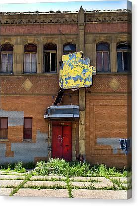 Side Entrance Canvas Print by David Kyte