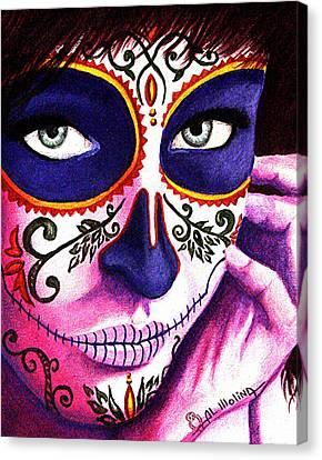 Siempre En Mi Mente  Canvas Print by Al  Molina