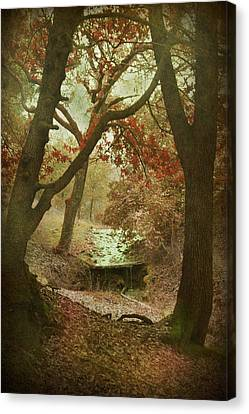 Sighs Of Love Canvas Print by Laurie Search