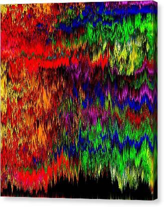 Signals From Galaxy Abxz Canvas Print by Oksana Linde