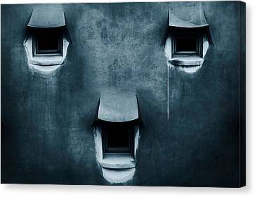 Silent Cry Canvas Print by Fabien Bravin