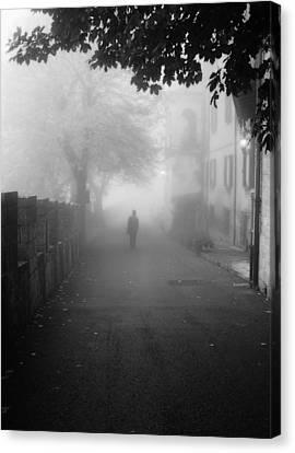 Silent Hill Canvas Print by Andrea Mazzocchetti