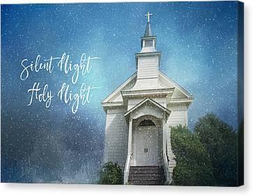 Silent Night Canvas Print by Lynn Bauer