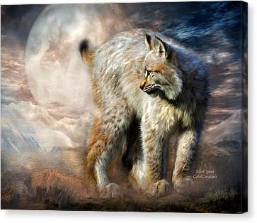 Silent Spirit Canvas Print by Carol Cavalaris