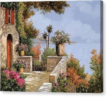 Silenzio Canvas Print by Guido Borelli