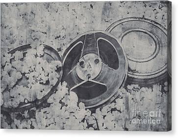 Silver Screen Film Noir Canvas Print by Jorgo Photography - Wall Art Gallery