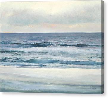 Silvery Morn Canvas Print by Jan Matson