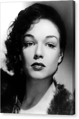 Simone Signoret, C. 1940s Canvas Print by Everett