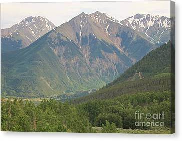 Simply Colorado 2 Canvas Print by Tonya Hance