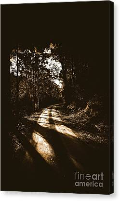 Sinister Roadway Canvas Print by Jorgo Photography - Wall Art Gallery