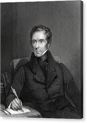 Sir Benjamin Collins Brodie 1783 To Canvas Print by Vintage Design Pics