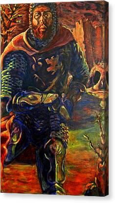 Sir Gaiwan Canvas Print by David Matthews