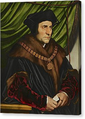Sir Thomas More Canvas Print by War Is Hell Store