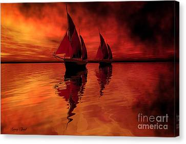 Siren Song Canvas Print by Corey Ford