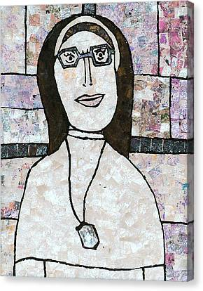 Sister Canvas Print by Carol Cole