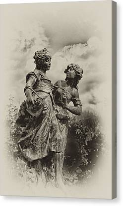 Sisters Canvas Print by Bill Cannon