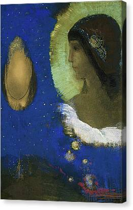 Sita Canvas Print by Odilon Redon