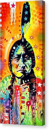 Sitting Bull Canvas Print by Dean Russo