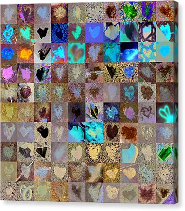 Six Hundred Series Canvas Print by Boy Sees Hearts