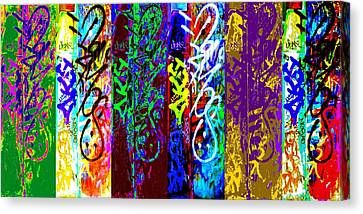 Six Seans Canvas Print by Randall Weidner