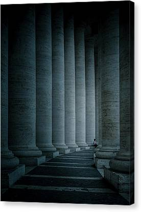 Size Proportions Canvas Print by Mirek