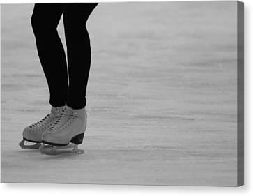 Skating II Canvas Print by Lauri Novak