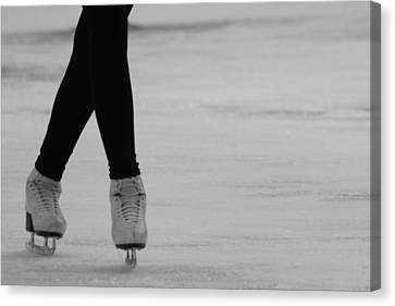 Skating Canvas Print by Lauri Novak