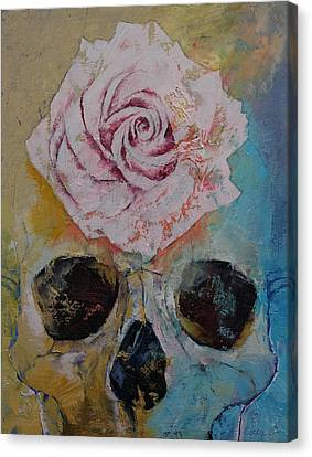 Rose Canvas Print by Michael Creese