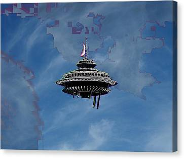 Sky Needle Canvas Print by Tim Allen