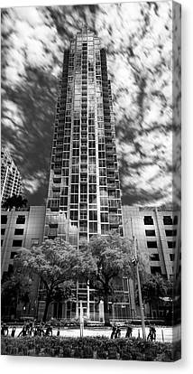 Sky Point Canvas Print by Marvin Spates