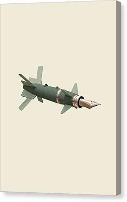 Sky Writing Canvas Print by Nicholas Ely