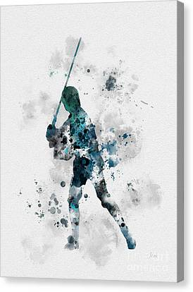 Skywalker Canvas Print by Rebecca Jenkins