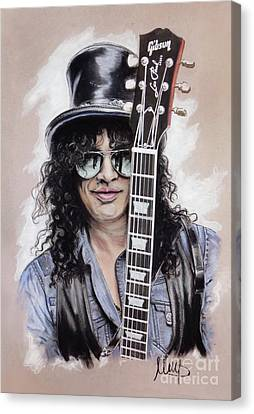 Slash 1 Canvas Print by Melanie D