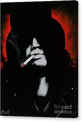 Slash Canvas Print by Ashley Price