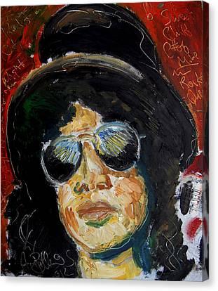 Slash  Canvas Print by Jon Baldwin  Art