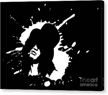 Slash N.01 Canvas Print by Caio Caldas