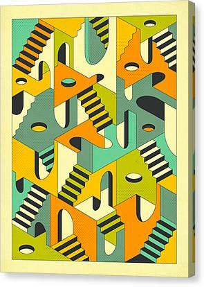 Sleepwalking Canvas Print by Jazzberry Blue