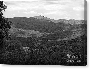 Sleepy Georgia Mountains Canvas Print by Luther Fine Art
