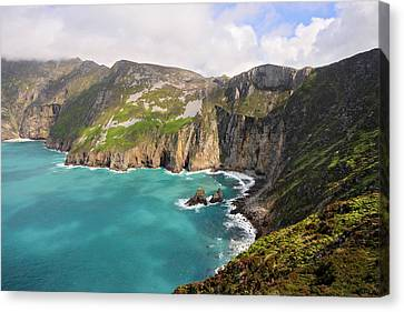 Slieve League Donegal Ireland Canvas Print by Pierre Leclerc Photography