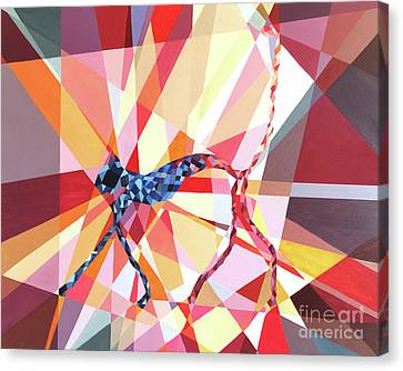 Slinky Cat Canvas Print by Christopher Page