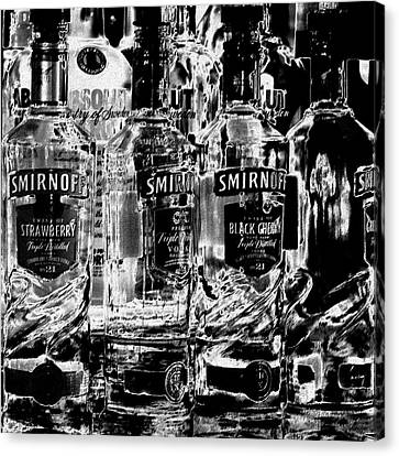 Smirnoff Vodka Canvas Print by David Patterson