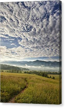 Smokies Cloudscape Canvas Print by Andrew Soundarajan