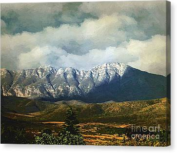 Smoky Clouds On A Thursday Canvas Print by RC deWinter